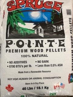 Spruce Pointe Pellets